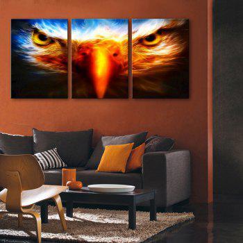 Yc Special Design Frameless Painting Birds Eye of 3 - LIMEADE 9 X 13 INCH (24CM X 34CM)