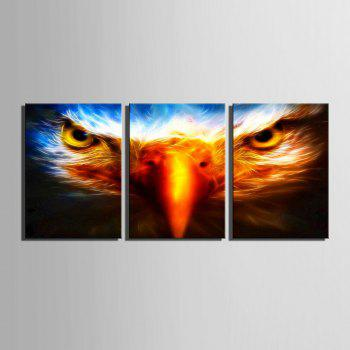 Yc Special Design Frameless Painting Birds Eye of 3 - LIMEADE 16 X 11 INCH (40CM X 28CM)