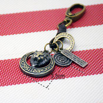 Mens Key Ring Creative All Match Vintage Key Ring Accessory - FROST FROST