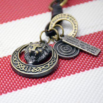 Mens Key Ring Creative All Match Vintage Key Ring Accessory - FROST 1PC