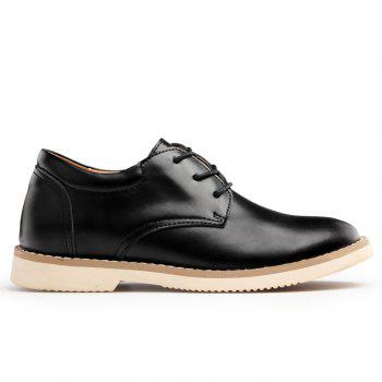 Shoes for Men Business Leather Shoes Men'S Office Shoes Casual Leather Shoes - BLACK 43
