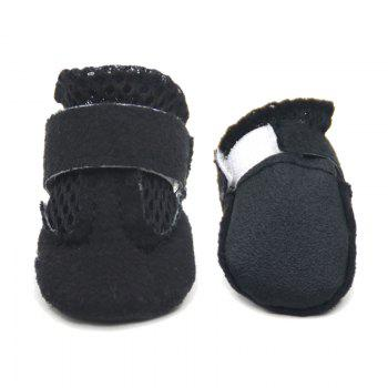 Lovoyager VSS17001 4PCS/SET Non-Slip Pet Teddy Puppy Dog Cats Casual Walking Shoes - M M