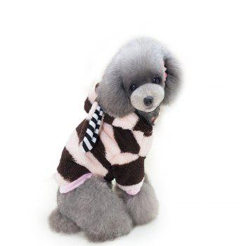 Lovoyager A03 Dog Winter High Quality Soft Thermal Coat - PINK PINK