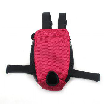 Lovoyager Vb14004 Fashionable Pet Front Chest Dog Travel Carrier Bag - RED L