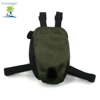 Lovoyager Vb14004 Fashionable Pet Front Chest Dog Travel Carrier Bag - GREEN GREEN