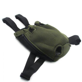 Lovoyager Vb14004 Fashionable Pet Front Chest Dog Travel Carrier Bag - GREEN S