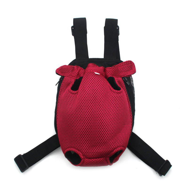 Lovoyager Vb14004 Fashionable Pet Front Chest Dog Travel Carrier Bag - RED M