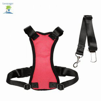 Lovoyager Lvhb15007 Safety Dog Harness for Dog - RED S