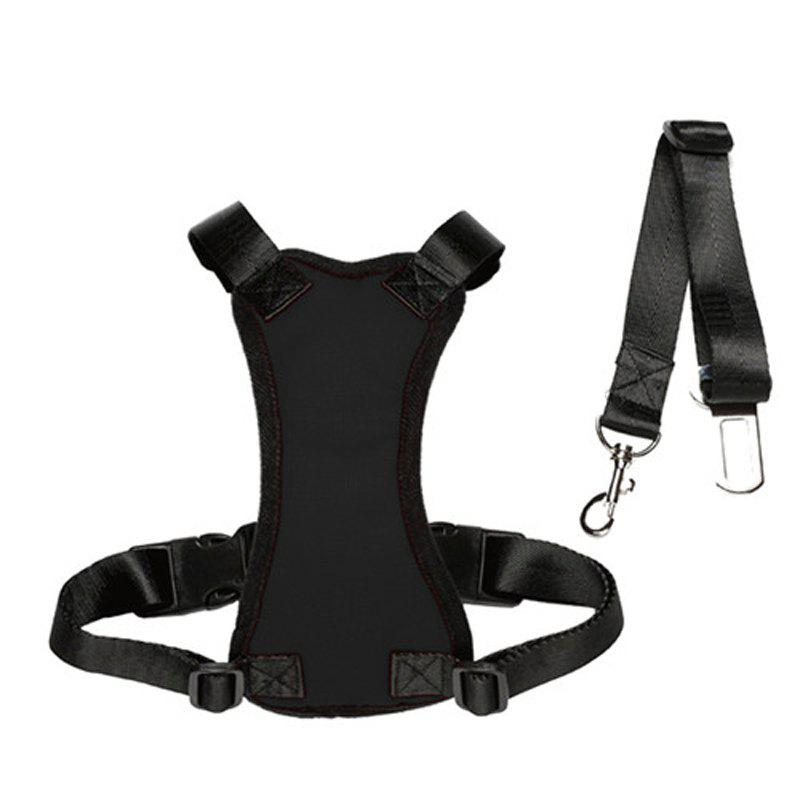 Lovoyager Lvhb15007 Safety Dog Harness for Dog - BLACK M
