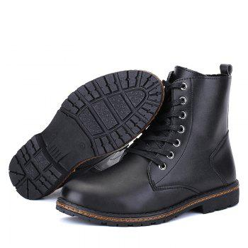 Men's Casual England Ankle Boots - BLACK 39