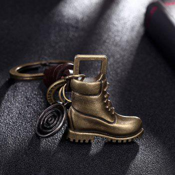Men'S Key Ring Fashion Retro Style Chic Design Key Ring Accessory - BRONZED 1PC