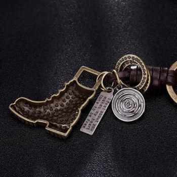 Men'S Key Ring Fashion Retro Style Chic Design Key Ring Accessory - BRONZED BRONZED