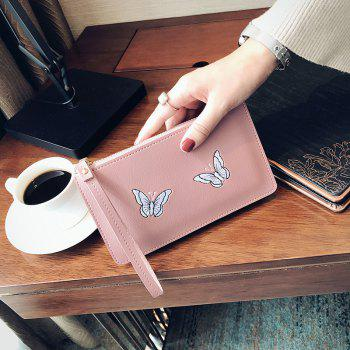 Ladies Fashion Casual  PU Leather Wallet for Women - PINK