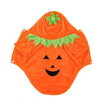 Lovoyager Lvc1701 Halloween Dogs Decorate Cute Pumpkin Dresses - ORANGE XL