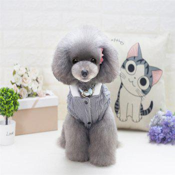 Lovyager A79 Dog Clothing Pet Clothes Import Dog Clothes China Polar Fleece Dog Sweater - GRAY 2XL