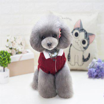 Lovyager A79 Dog Clothing Pet Clothes Import Dog Clothes China Polar Fleece Dog Sweater - RED M