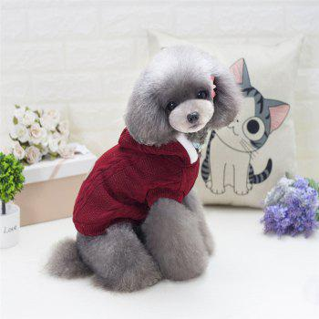 Lovyager A79 Dog Clothing Pet Clothes Import Dog Clothes China Polar Fleece Dog Sweater - L L