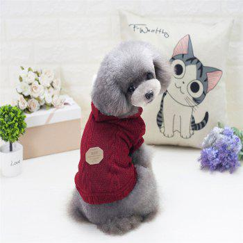 Lovyager A79 Dog Clothing Pet Clothes Import Dog Clothes China Polar Fleece Dog Sweater - RED L