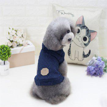 Lovyager A79 Dog Clothing Pet Clothes Import Dog Clothes China Polar Fleece Dog Sweater - BLUE 2XL