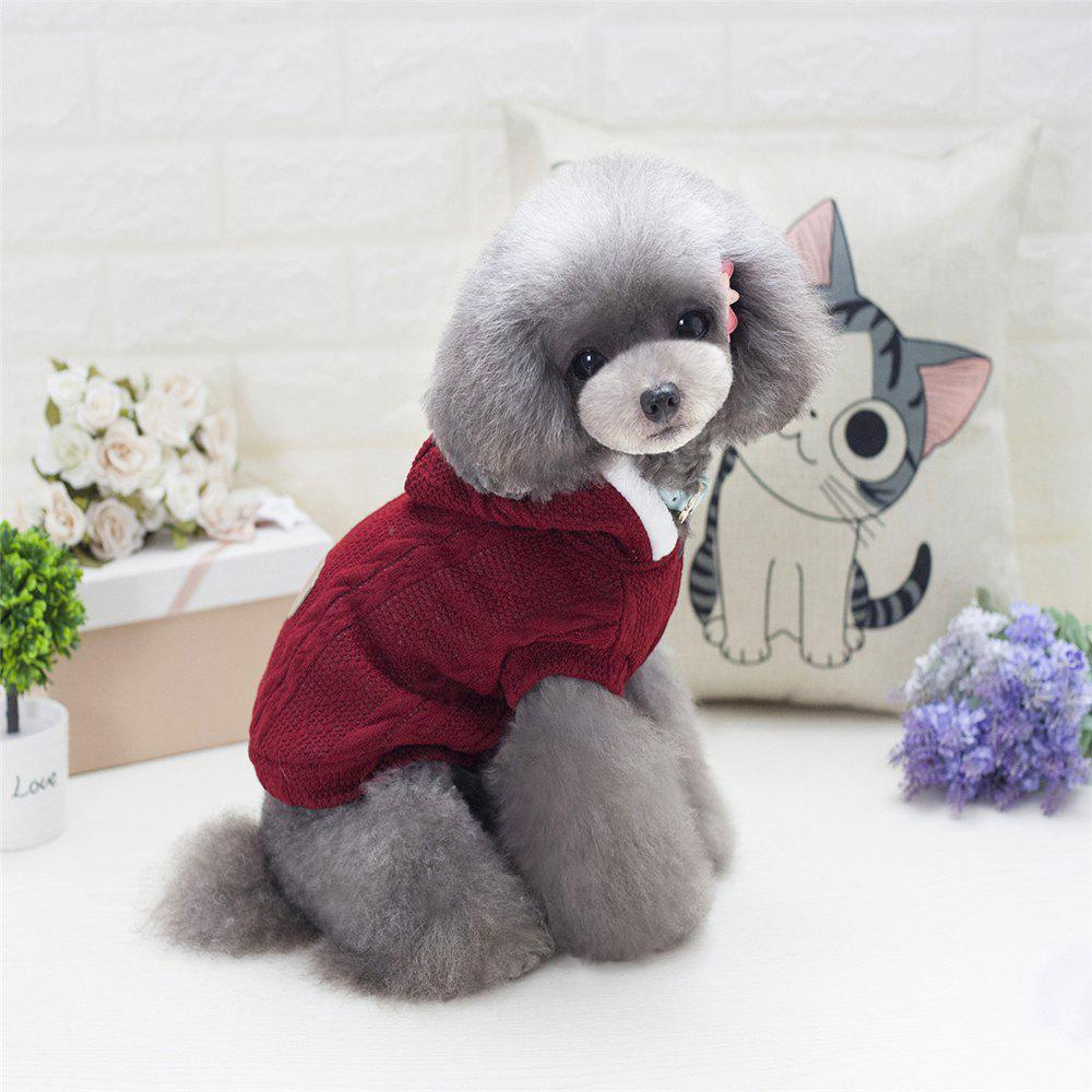 Lovyager A79 Dog Clothing Pet Clothes Import Dog Clothes China Polar Fleece Dog Sweater - RED 2XL
