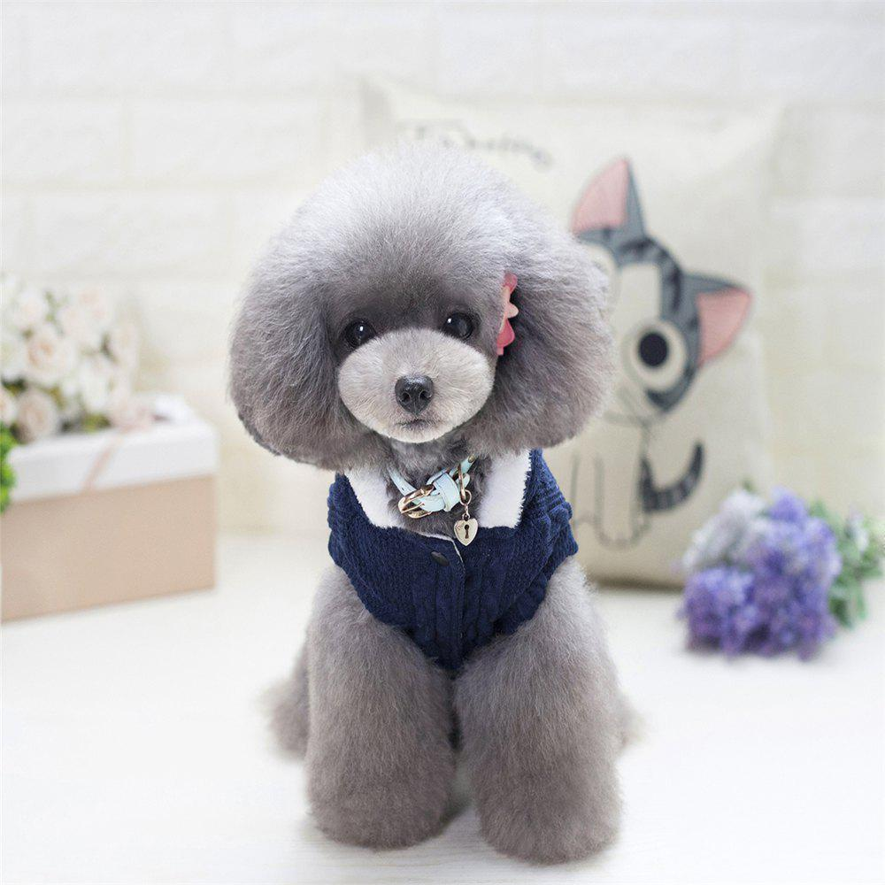 Lovyager A79 Dog Clothing Pet Clothes Import Dog Clothes China Polar Fleece Dog Sweater - BLUE M