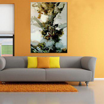Hua Tuo Abstract Oil Painting 60 x 90cm OSR-160303 - GREY/WHITE/BLUE