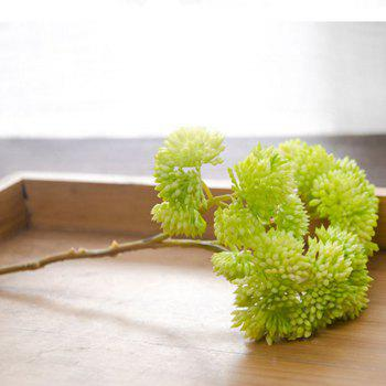 1 Branch Simulation Berry Home Decoration Artificial Flower - GREEN GREEN