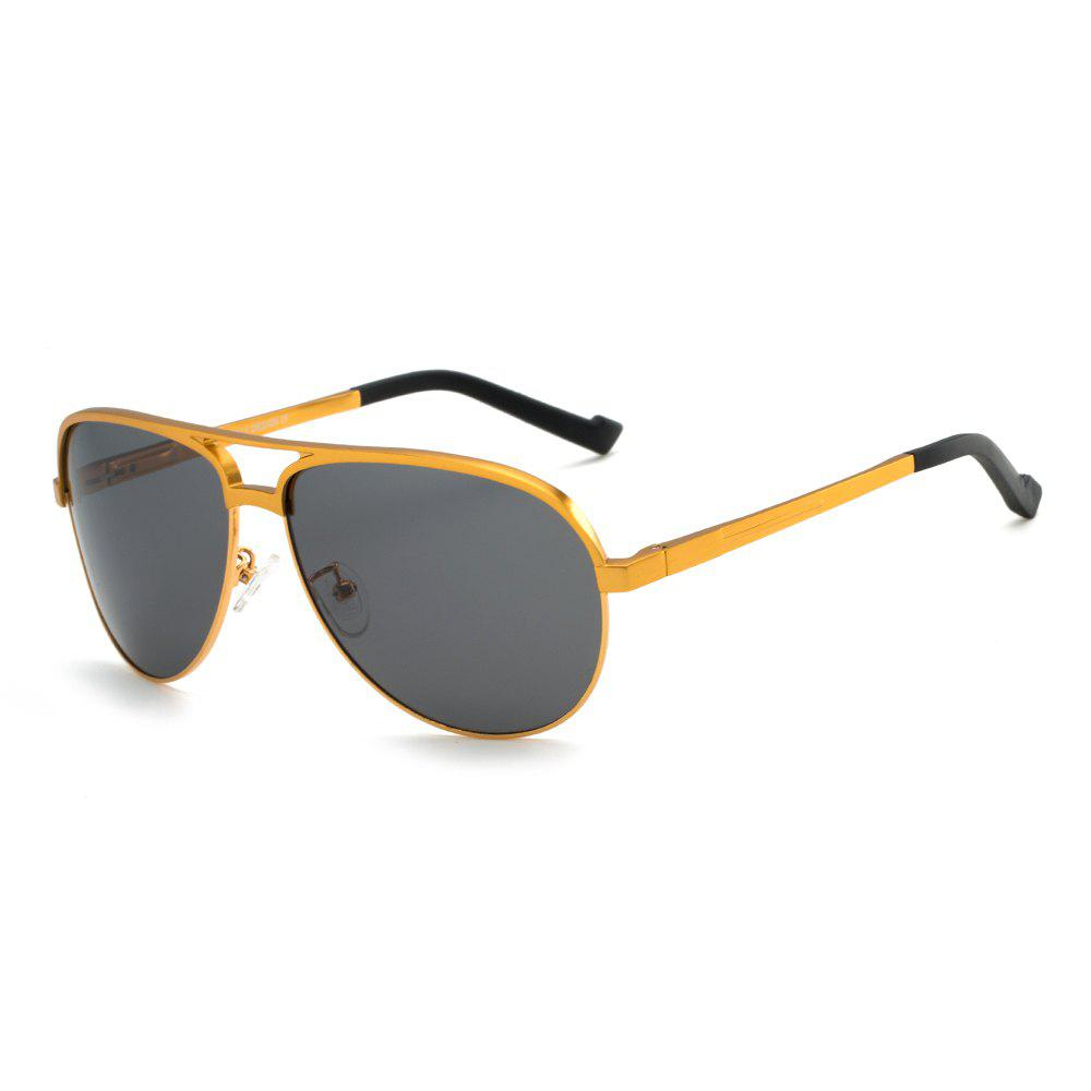 TOMYE 8548 Polarized Lens Men Sunglasses - GOLDEN