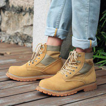 Outdoor Shoes Men'S Leisure Shoes Leather Belt with Big Head Shoe Heavy Anti-Skid - LIMEADE 47