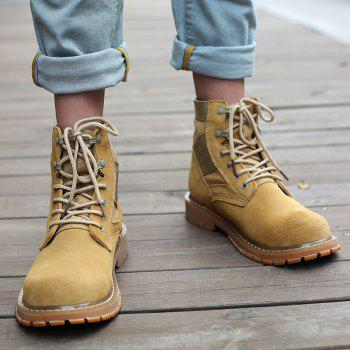 Outdoor Shoes Men'S Leisure Shoes Leather Belt with Big Head Shoe Heavy Anti-Skid - 46 46