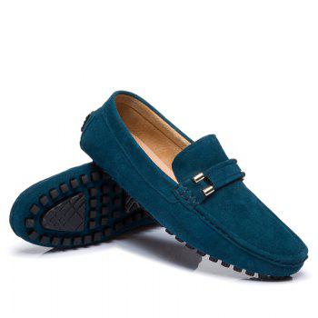 Men'S Driving Shoes Doug Shoes Casual Shoes Soft Bottom Comfort - WINDSOR BLUE WINDSOR BLUE