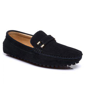 Men'S Driving Shoes Doug Shoes Casual Shoes Soft Bottom Comfort - BLACK 45