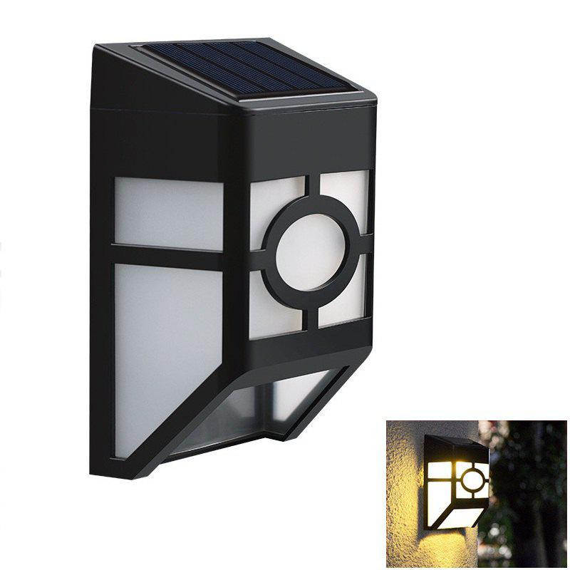 1PCS Polycrystalline silicon solar light-operated Super Bright Wall Mount Outdoor Garden Lamp outdoor light solar garden lights outdoor wall lamp wall lamp light sensing super bright lamp waterproof household solar fg209
