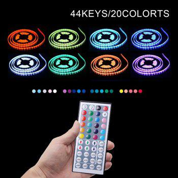 KWB LED Strip Light 5050 300LEDs RGB with 44 Key Controller 6A Power Supply - RGB COLOR NON WATERPROOF