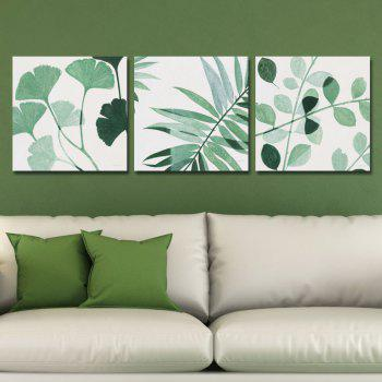 DYC 10067 3PCS Leaves of Tree Print Art Ready to Hang Paintings - COLORMIX COLORMIX