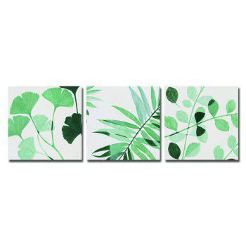 DYC 10067 3PCS Leaves of Tree Print Art Ready to Hang Paintings -  COLORMIX