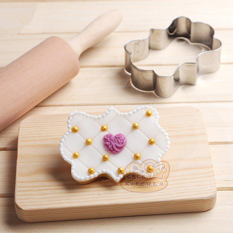 AY - HQ206 European Style Long-shaped Stainless Steel Biscuit Cake Mold