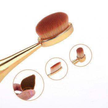 GANJOY-Three Pack Toothbrush Cosmetic Brush New High-End Touch Paint -  ROSE GOLD