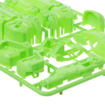 Maikou 7 in 1 Solar DIY Assembling Toys Space Educational Toy - GREEN TRANSFORM EQUIPMENT