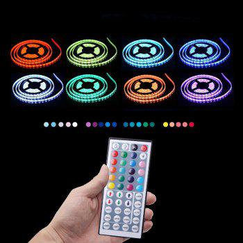 KWB LED Strip Light 5050SMD RGB 300-LED 10M with 44 Key Controller and 6A Adapter - RGB NON WATERPROOF US PLUG