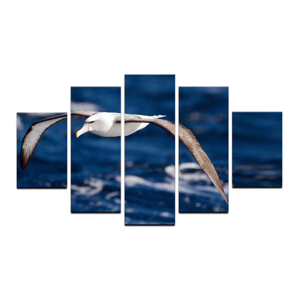 2018 yhhp 5 panneaux flying seagulls photo impression. Black Bedroom Furniture Sets. Home Design Ideas