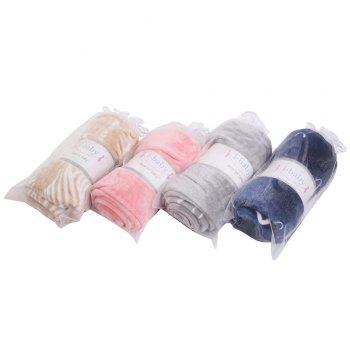 IBaby Soft Baby Girls Boys Cozy Mink Blanket - OYSTER OYSTER