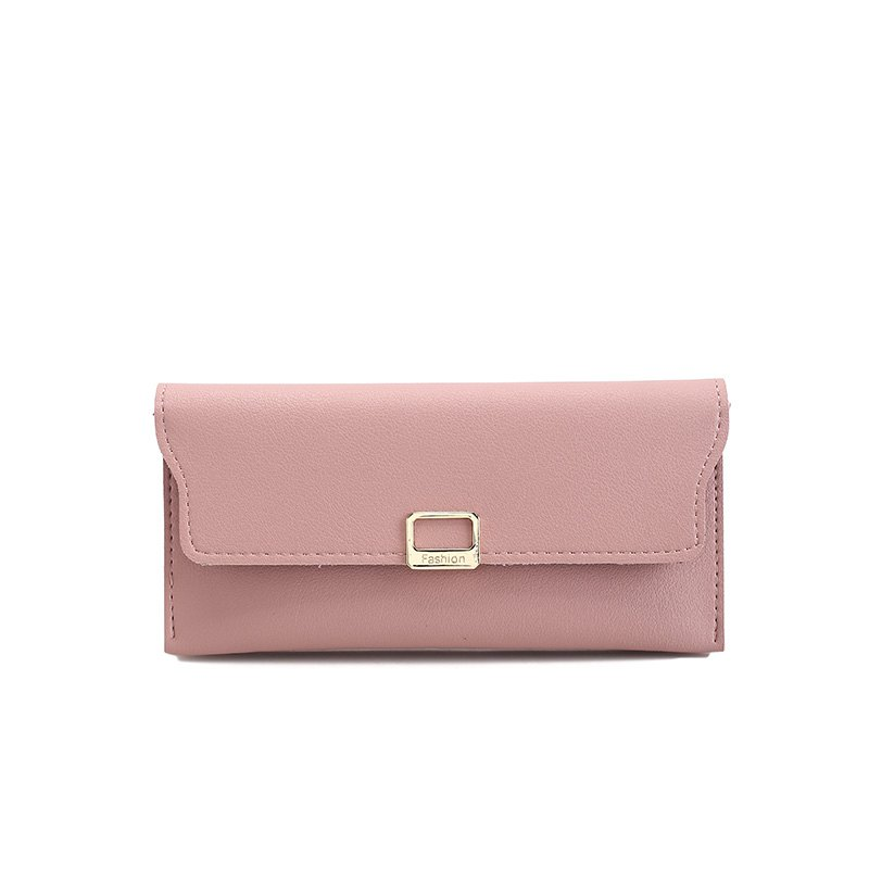 Fashion Simple Handbag Purse for Women - PINK