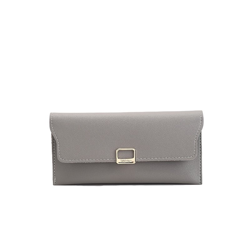 Fashion Simple Handbag Purse for Women - GRAY