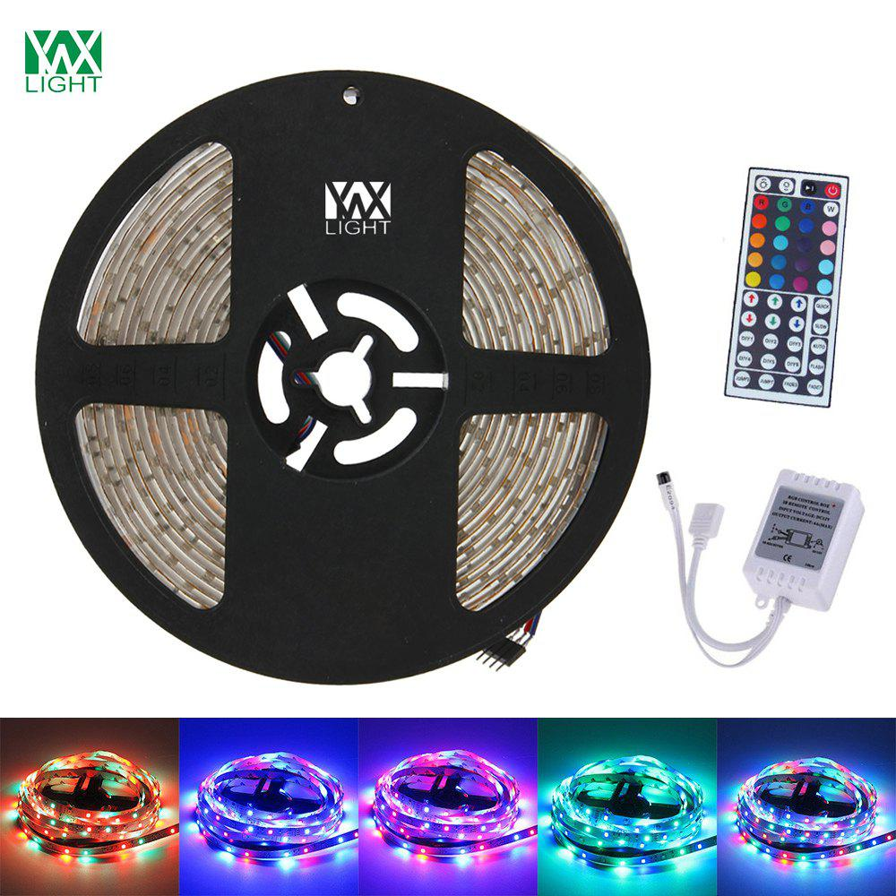 YWXLight 5M 300LED 3528SMD Waterproof 44Key Remote Control Flexible LED Light Strips ( DC 12V) 0 9m smd 3528 90 leds waterproof led rope light festival lighting