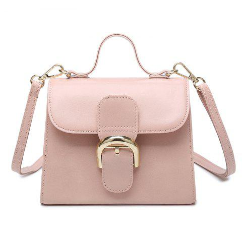 Ladies Bag 2017 New Elegant Fashion Simple Korean All-Match Tide Shan Jianxie Satchel Bag Mini Air - PAPAYA HORIZONTAL