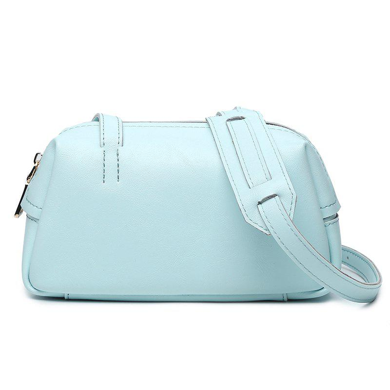 European Fashion New Handbag Small Package Bag All-Match Trend Simple Small Leisure Only Diagonal Bag - LAPIS HORIZONTAL