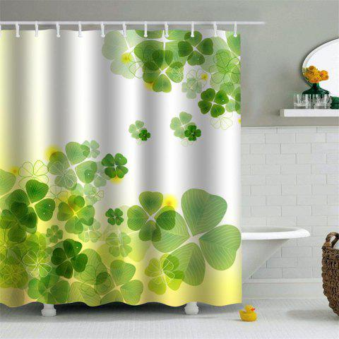 shower curtain mouldproof waterproof toilet bathroom partition 180 x 180cm green - Dresslily Shower Curtains