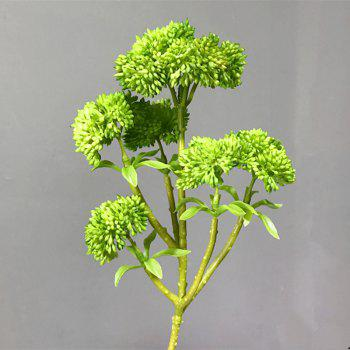 XM Broccoli Home Decoration Artificial Flower 34CM - GREEN GREEN