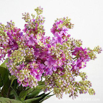 XM High Simulation Lilac Home Decoration Artificial Flower 70CM -  LIGHT PURPLE